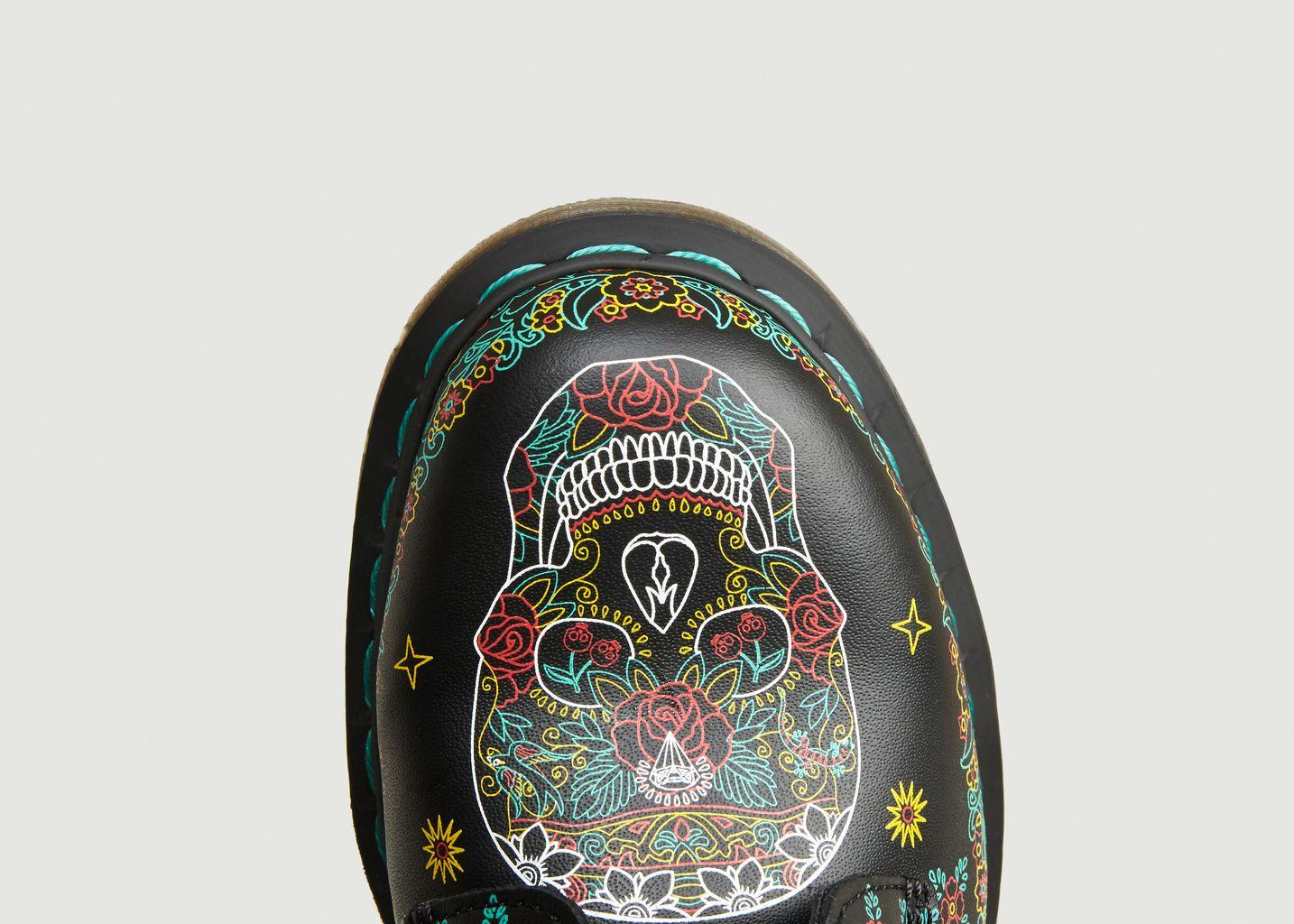 Bottines 1460 Skull Backhand - Dr. Martens