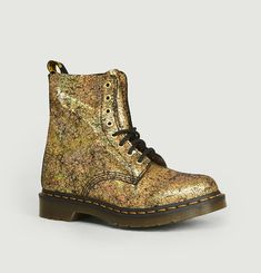 1460 Pascal Crackle Leather Boots