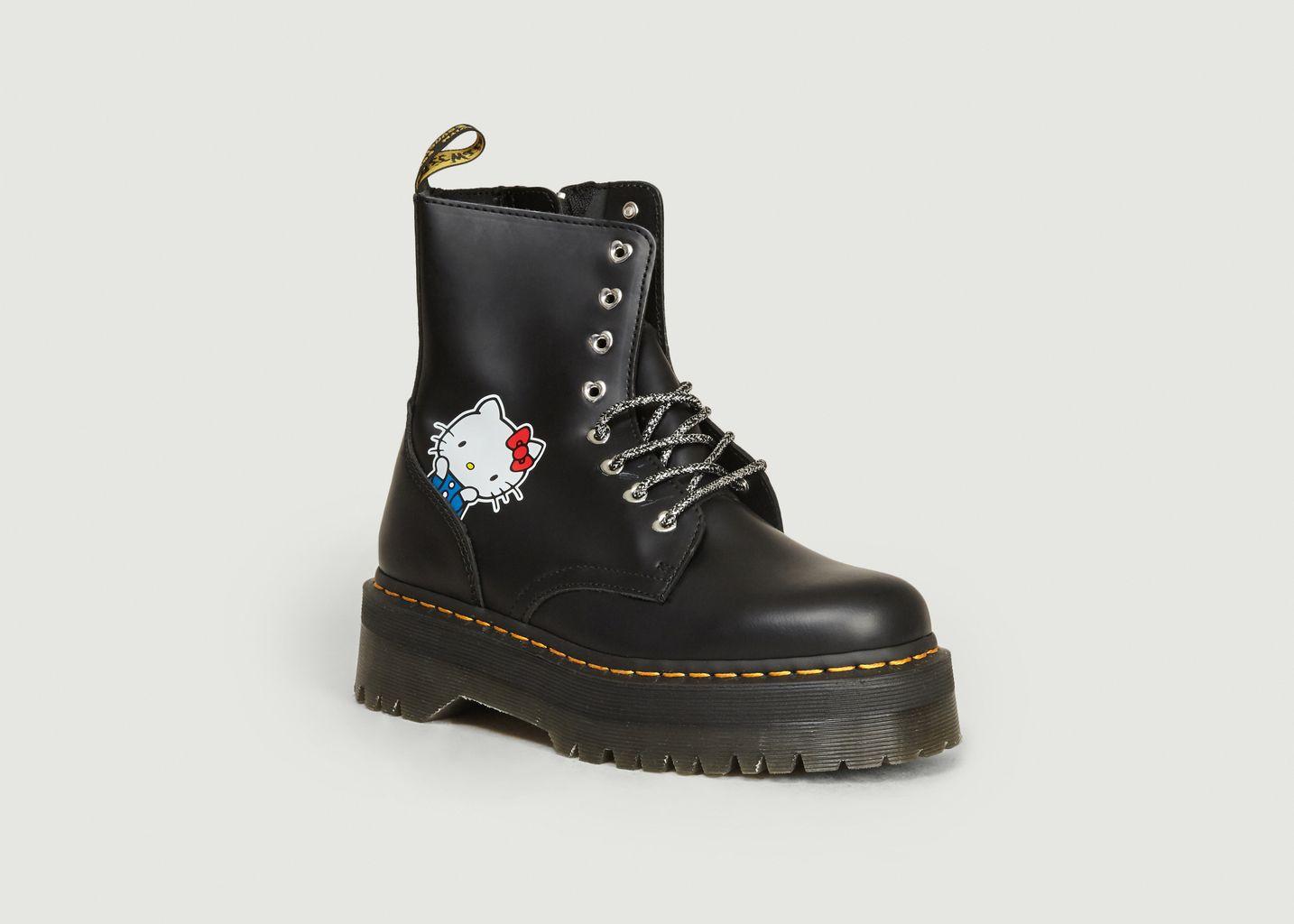 Boots Jadon II x Hello Kitty Noir Dr. Martens | L'Exception