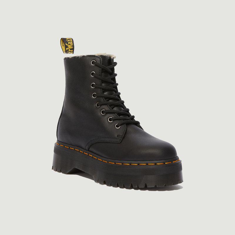 Boots fourrées en cuir à plateforme Jadon - Dr. Martens
