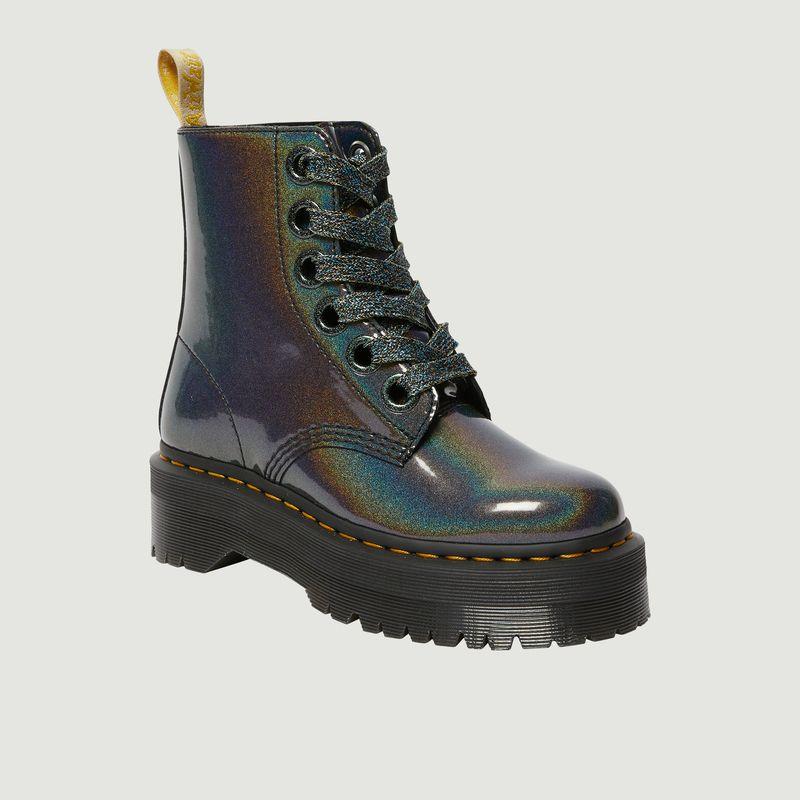 Boots à plateforme Molly Rainbow Vegan - Dr. Martens
