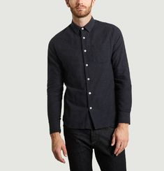Cashmere Flannel Shirt
