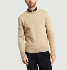 Cashmere and Wool Blend Sweatshirt