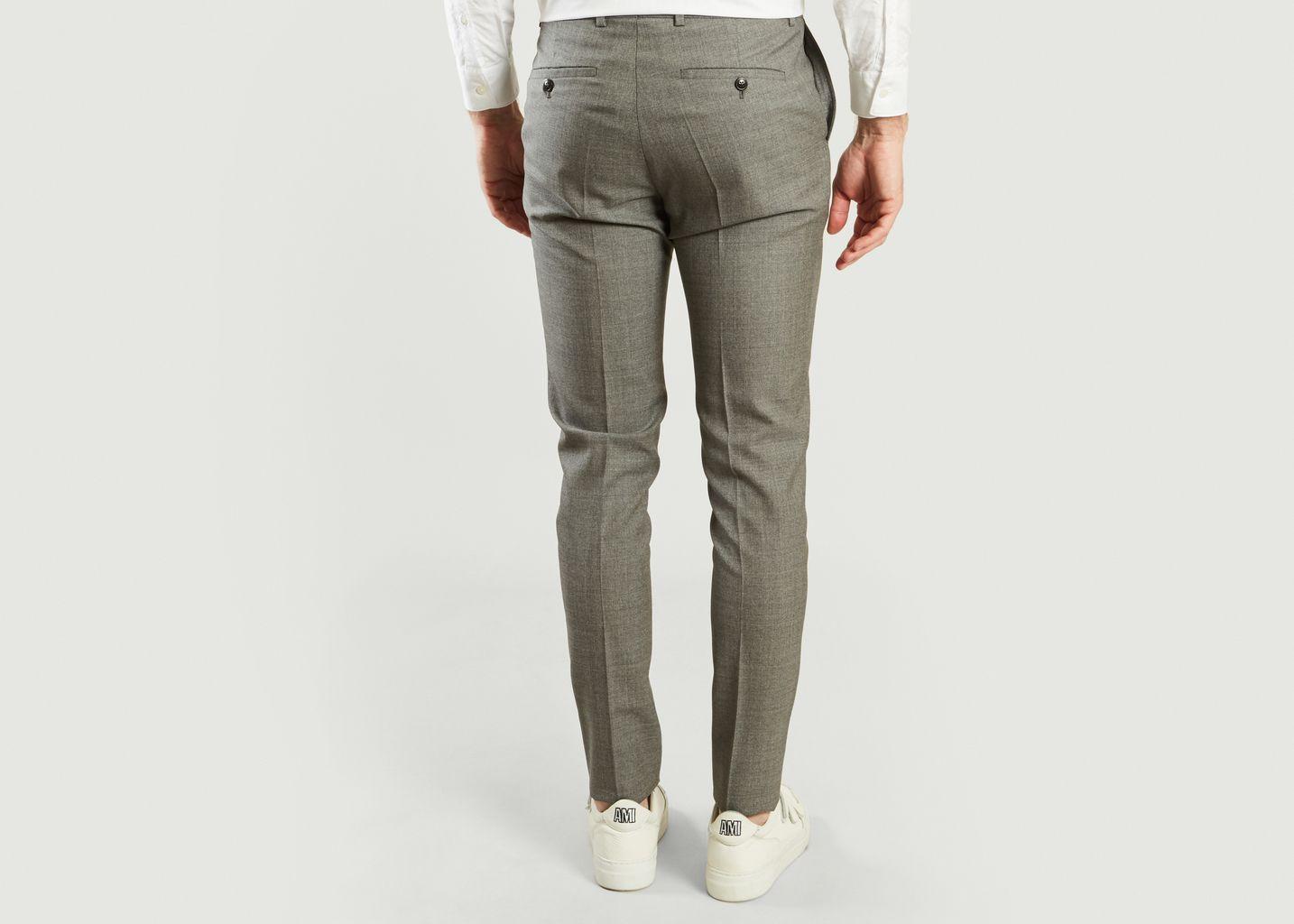 Pantalon en Laine - Drapeau Noir