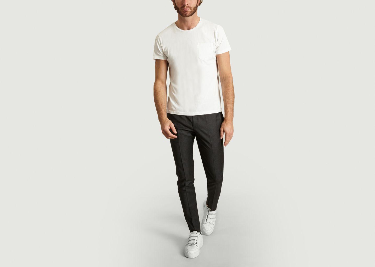 Pantalon Droit - Drapeau Noir