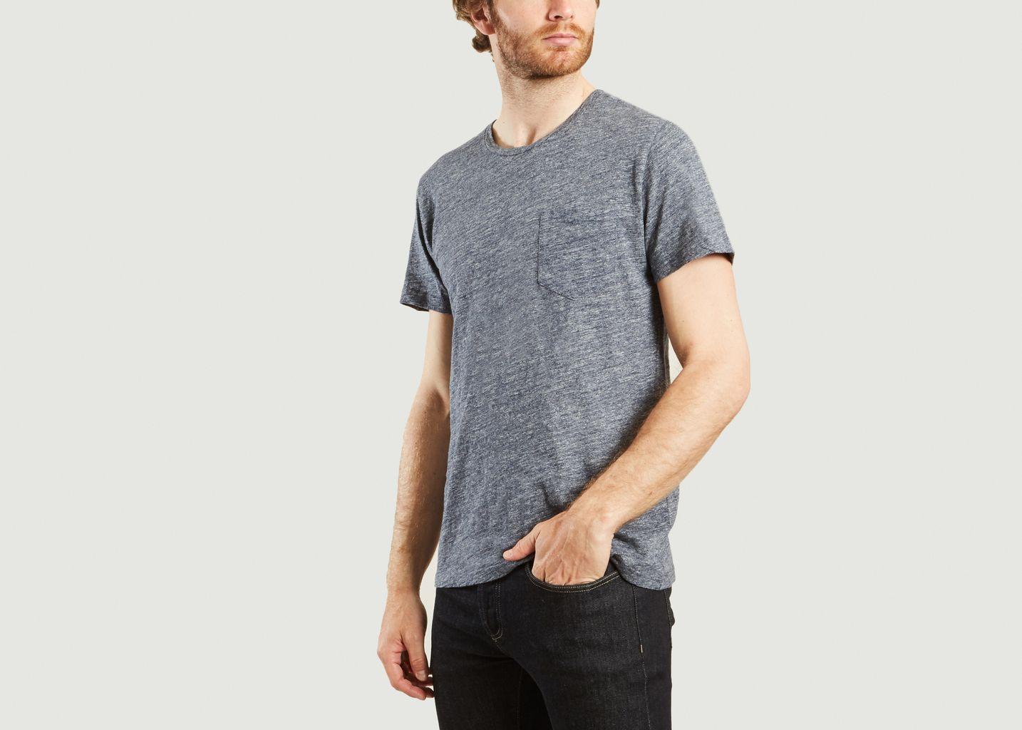 T-Shirt Uni - Drapeau Noir