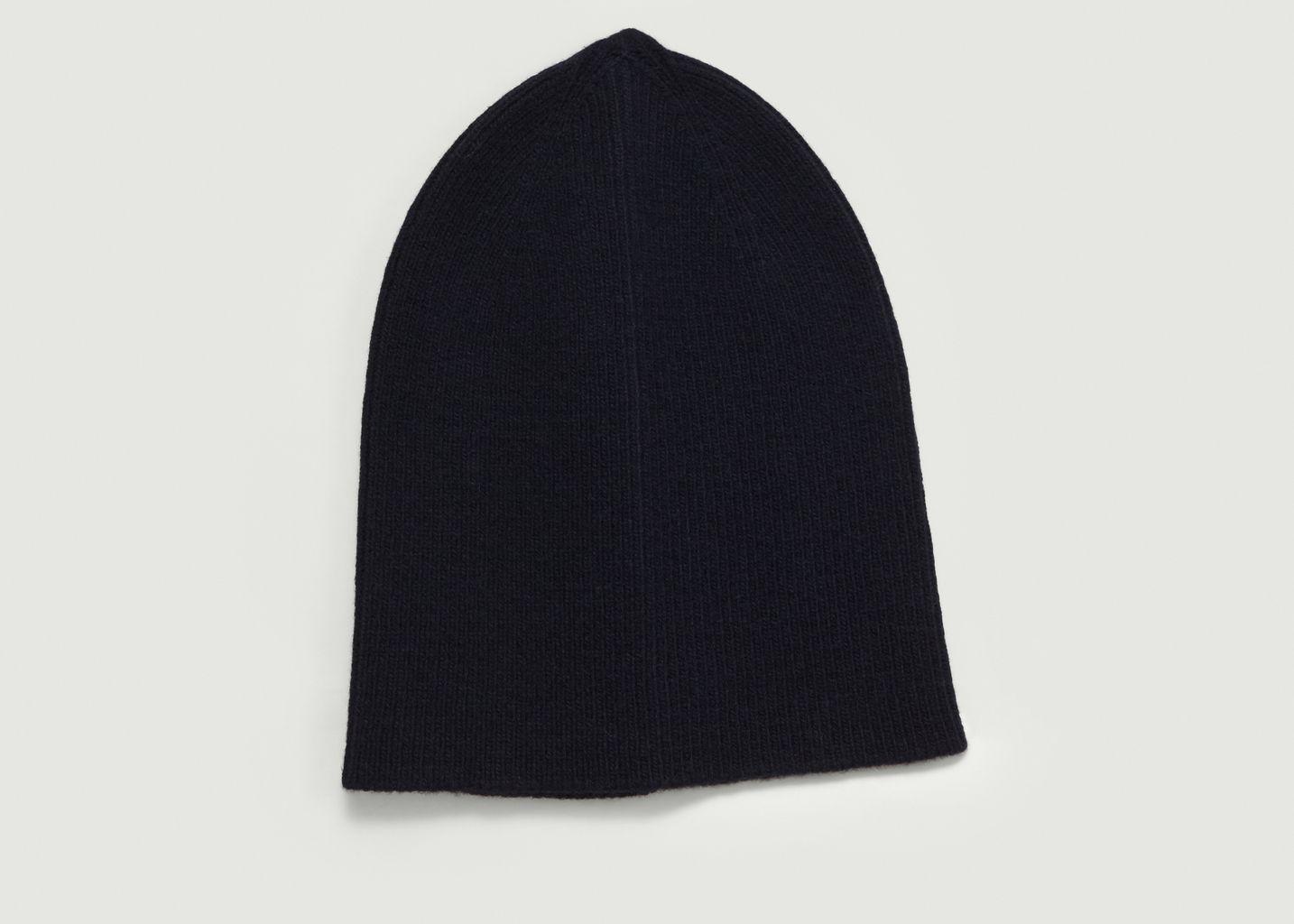 Bonnet Laine d'Agneau - Drapeau Noir