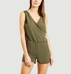 Suzan cross-over Playsuit