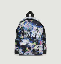 Padded Floral Backpack