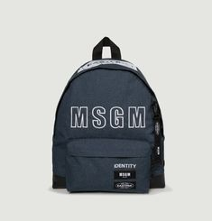 Padded Denim MSGM Backpack