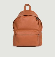 Leather backpack Eastpak