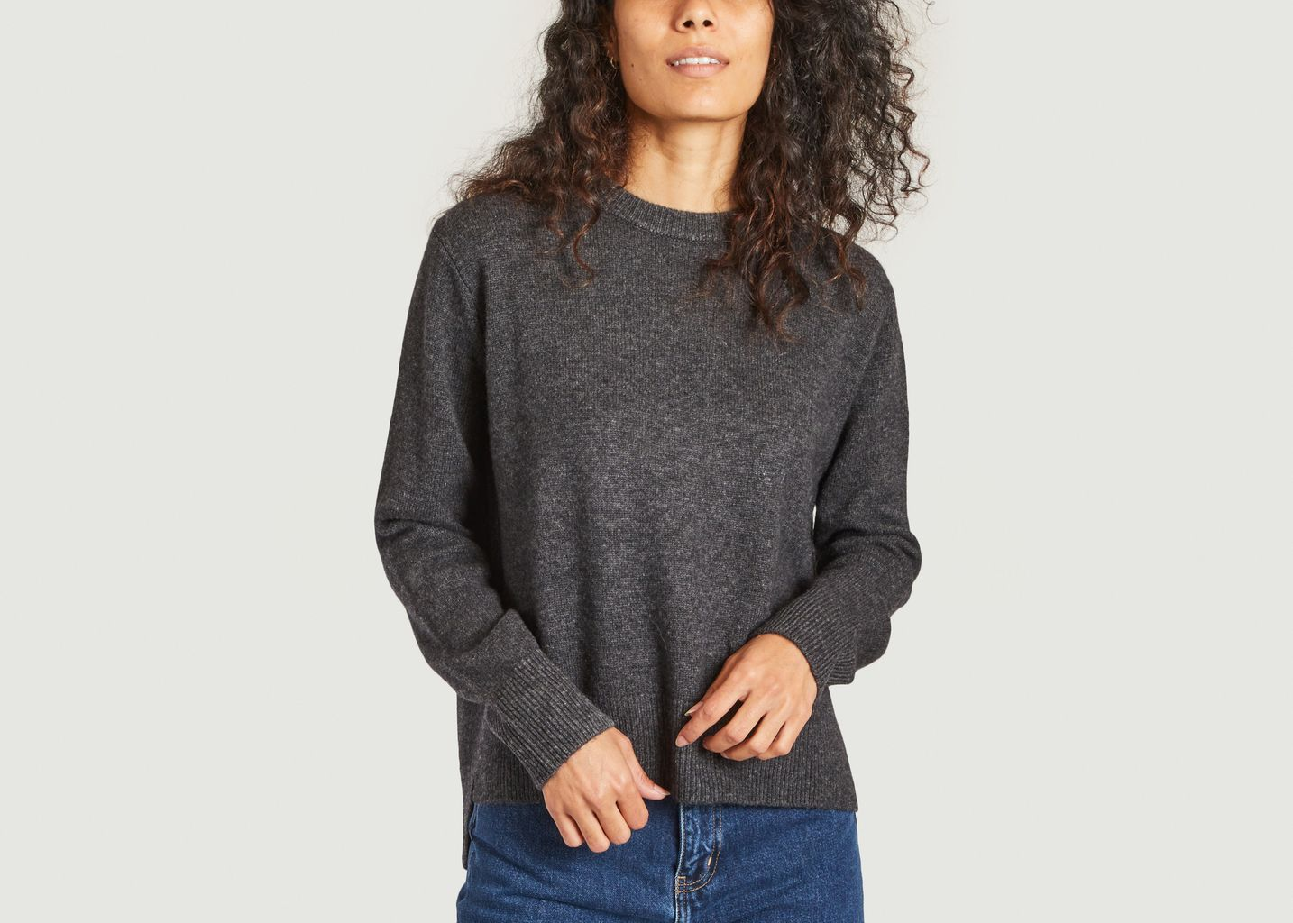 Pull col rond en laine Pino - Ecoalf