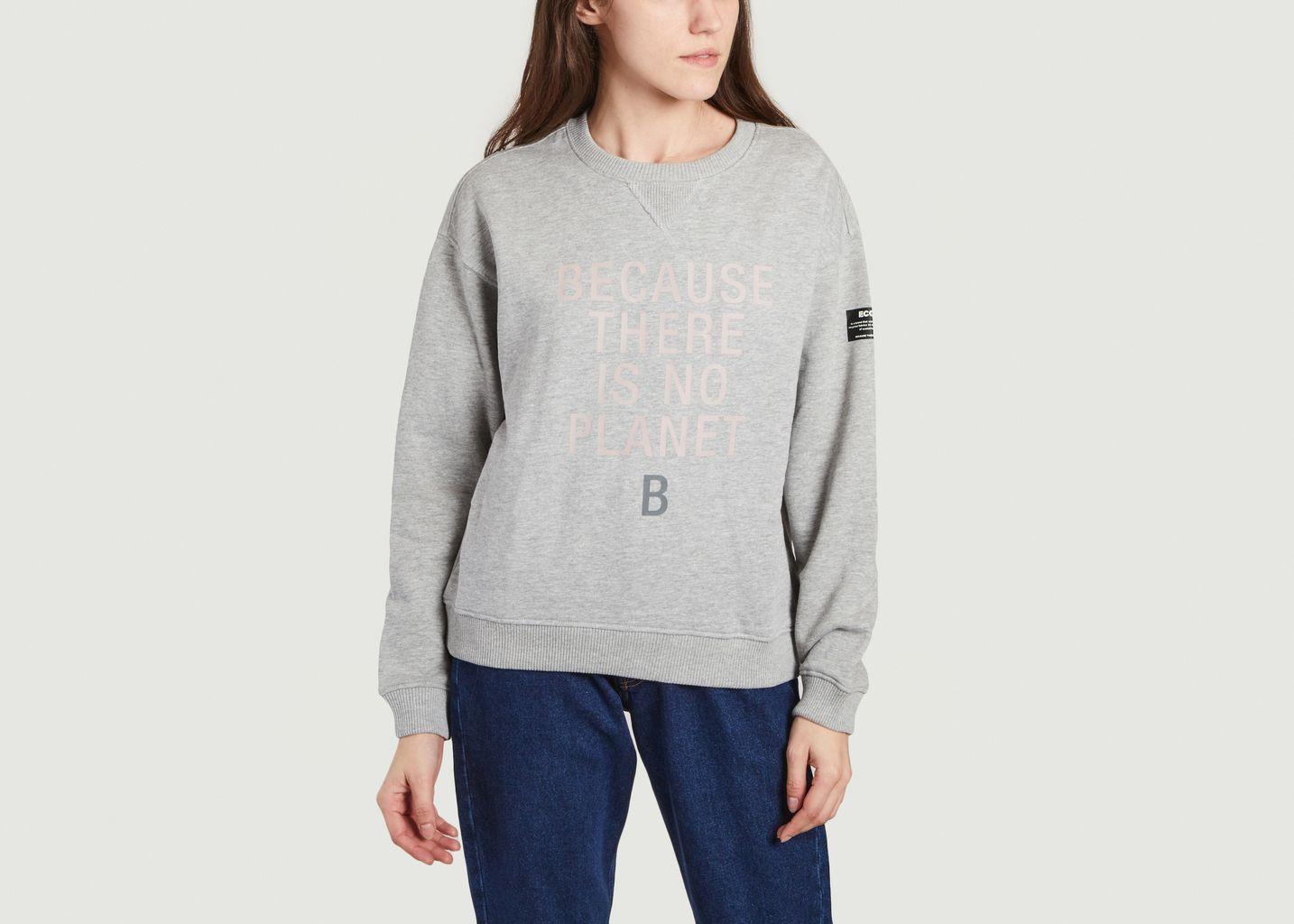 Sweatshirt à lettrage Llanes Because - Ecoalf
