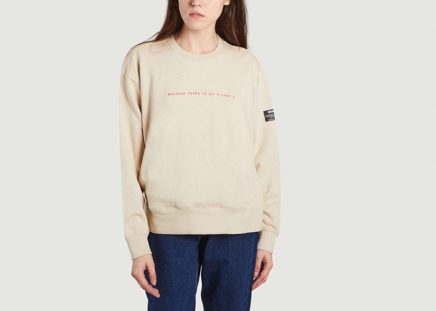 Sweatshirt à lettrage Bolonia - Ecoalf