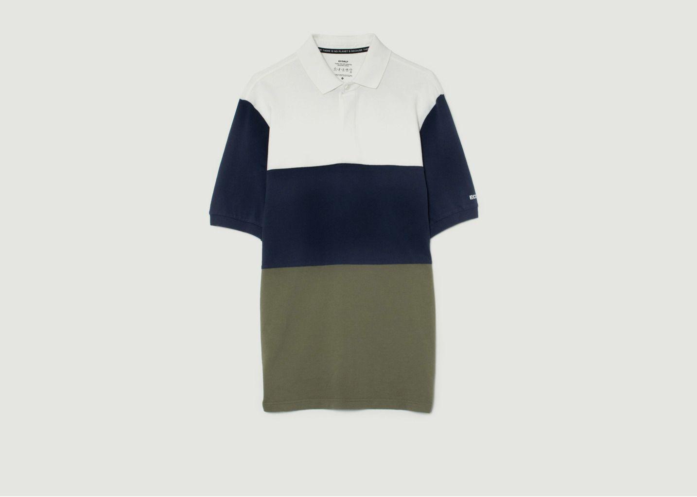 Polo Rewan Color-Block en coton biologique - Ecoalf