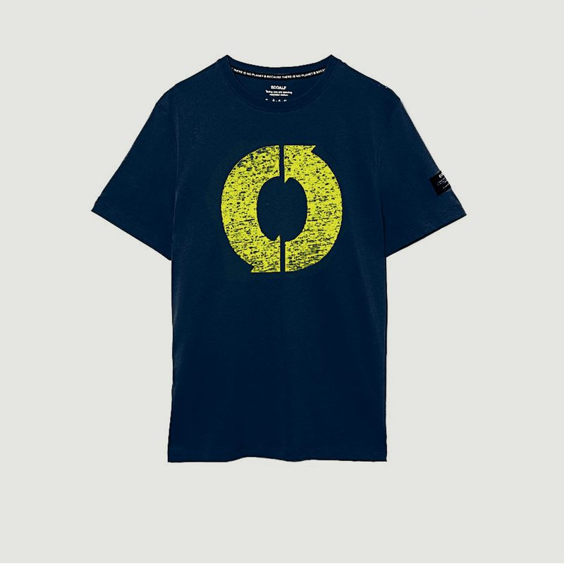 T-shirt Natal Logo Print en coton biologique - Ecoalf