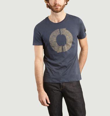 T-shirt Natal Logo Print en coton biologique