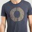 matière T-shirt Natal Logo Print en coton biologique - Ecoalf