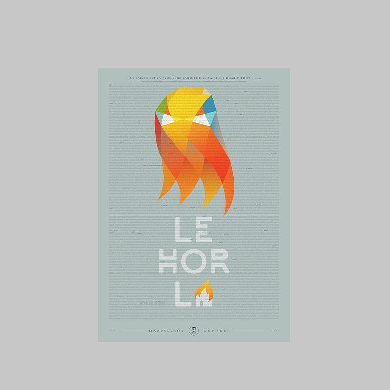 Affiche Le Horla - Editions Karakol