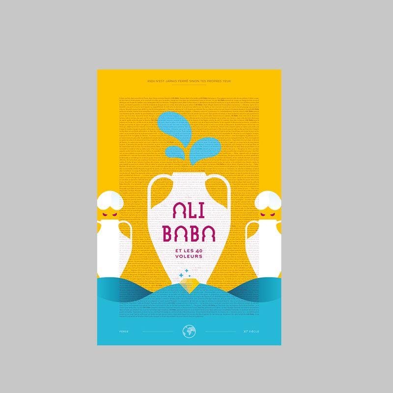 Ali Baba Poster - Editions Karakol