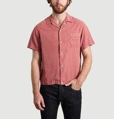 Chemise En Tencel Manches Courtes Willy