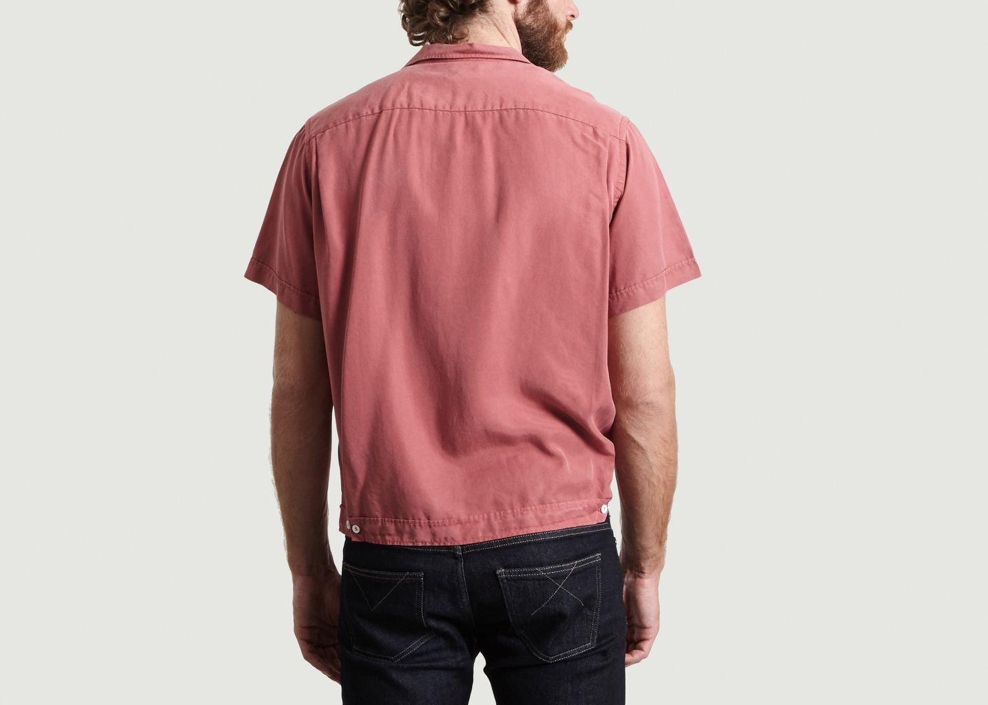 Chemise En Tencel Manches Courtes Willy - Editions M.R