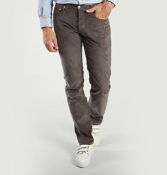 Jean 5 Poches Velours