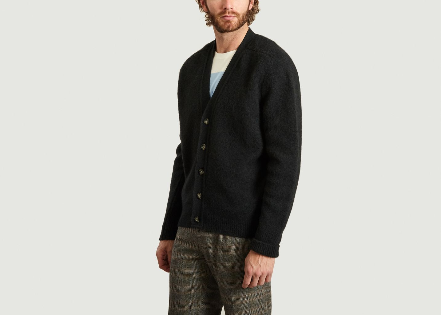 Cardigan Col V Michel - Editions M.R