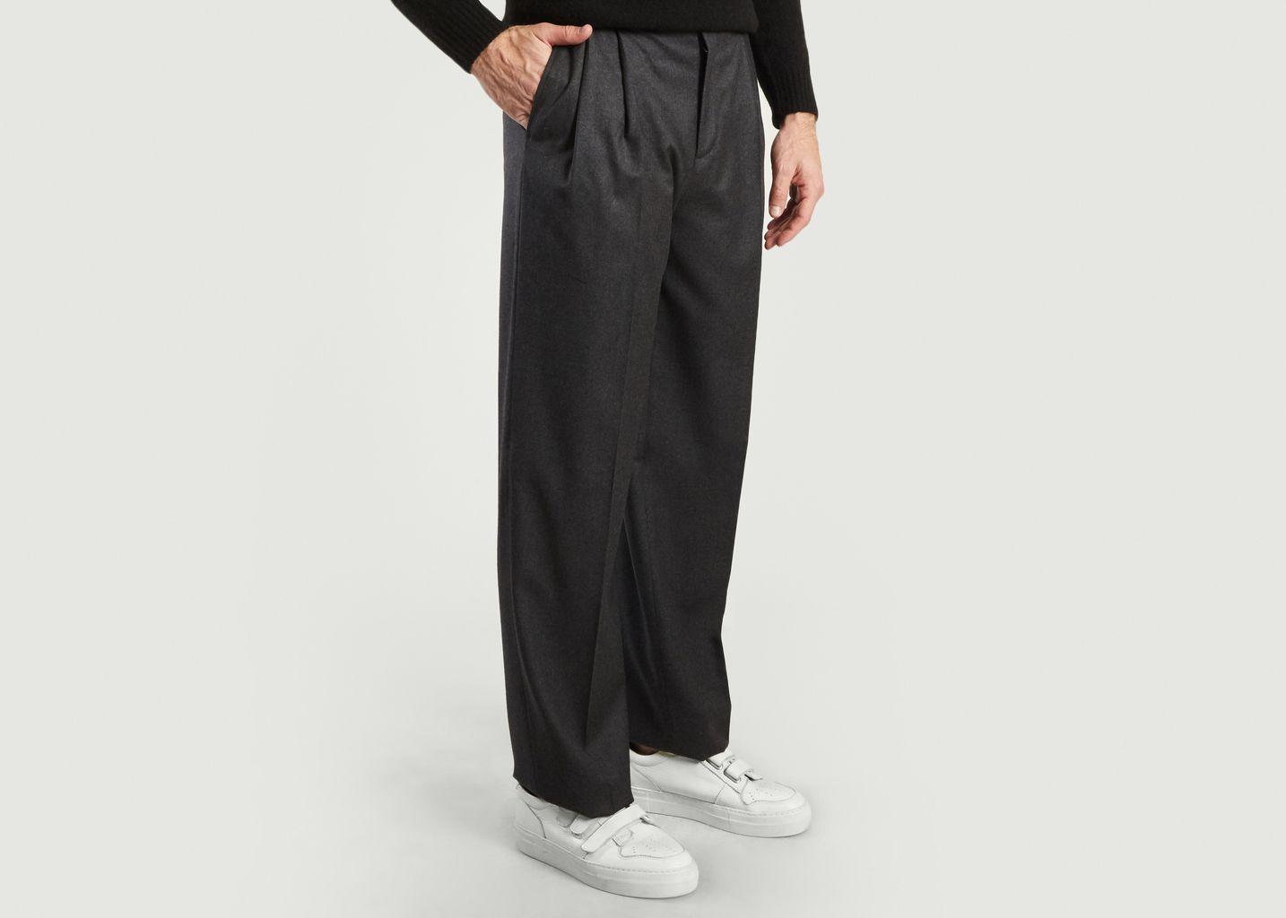 Pantalon Paul Taille Haute Ceinturé - Editions M.R