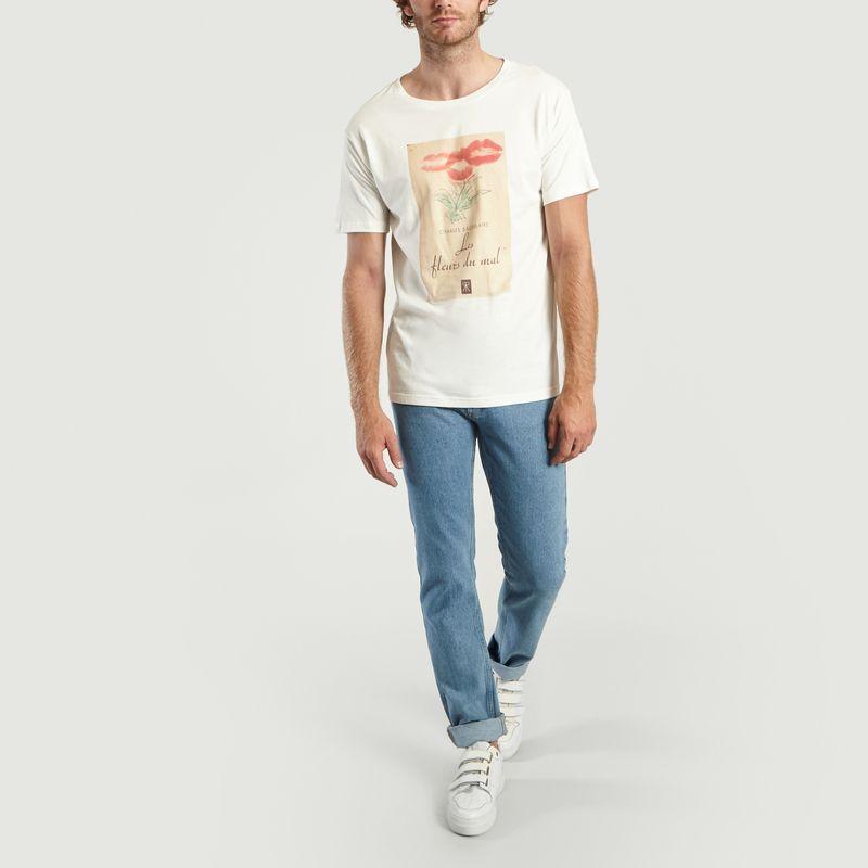 T-Shirt Imprimé Les Fleurs du Mal - Editions M.R