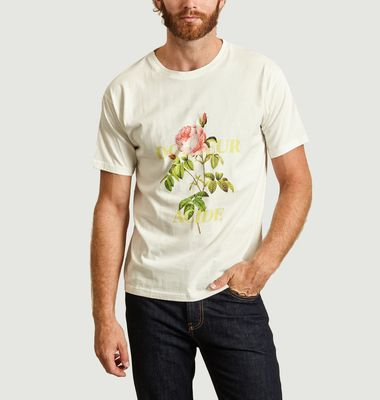 T-shirt Oversize Rose