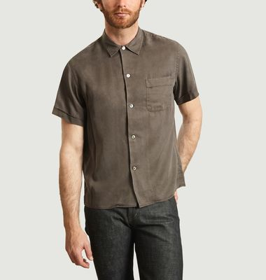 Chemise Manches Courtes En Tencel Willy