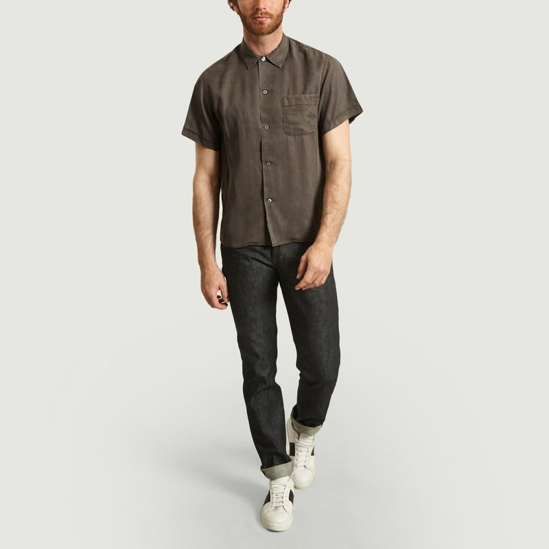Chemise Manches Courtes En Tencel Willy - Editions M.R