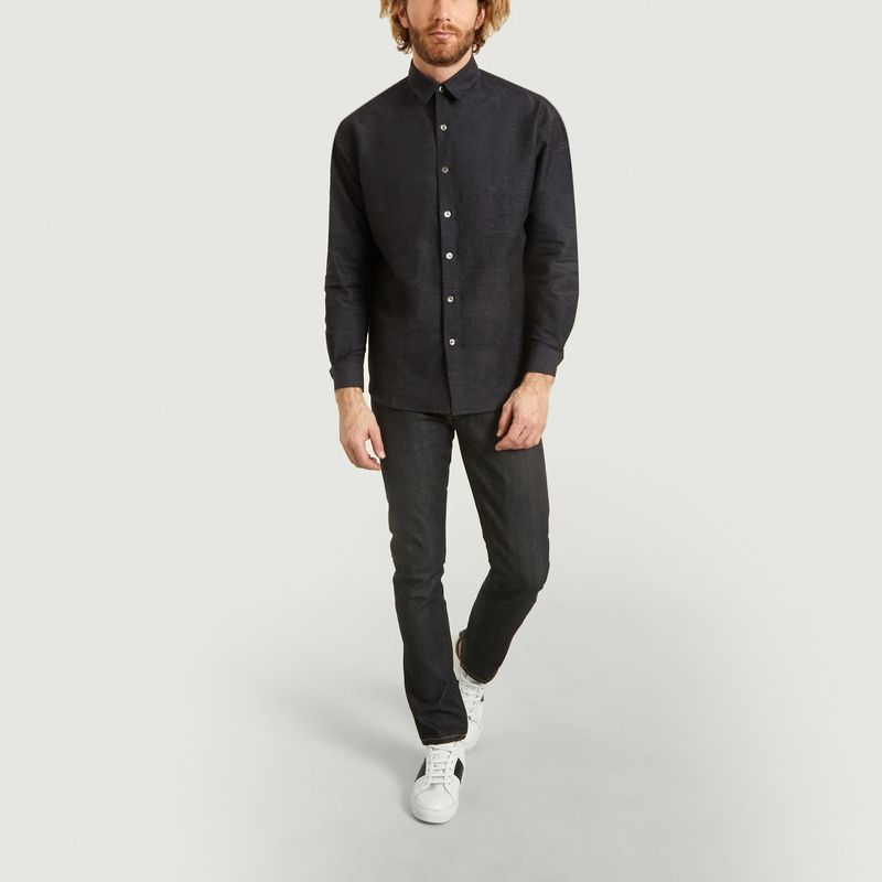 Panthéon Chambray Shirt Indigo Editions M R L Exception