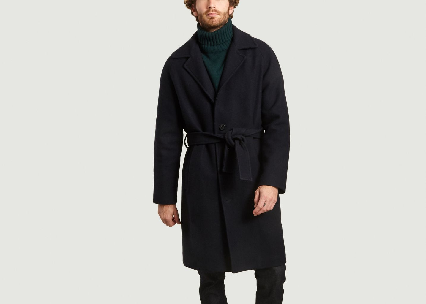 Manteau Tristan Bleu Marine Editions M.R | L'Exception