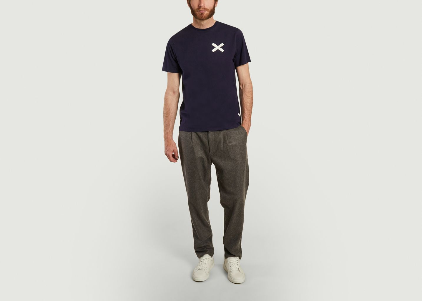 Pantalon droit en lainage Jack - Edmmond Studios