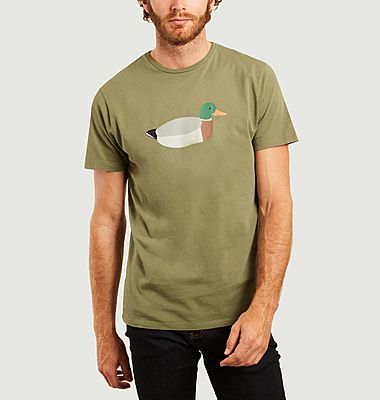 T-shirt Duck hunt en coton biologique