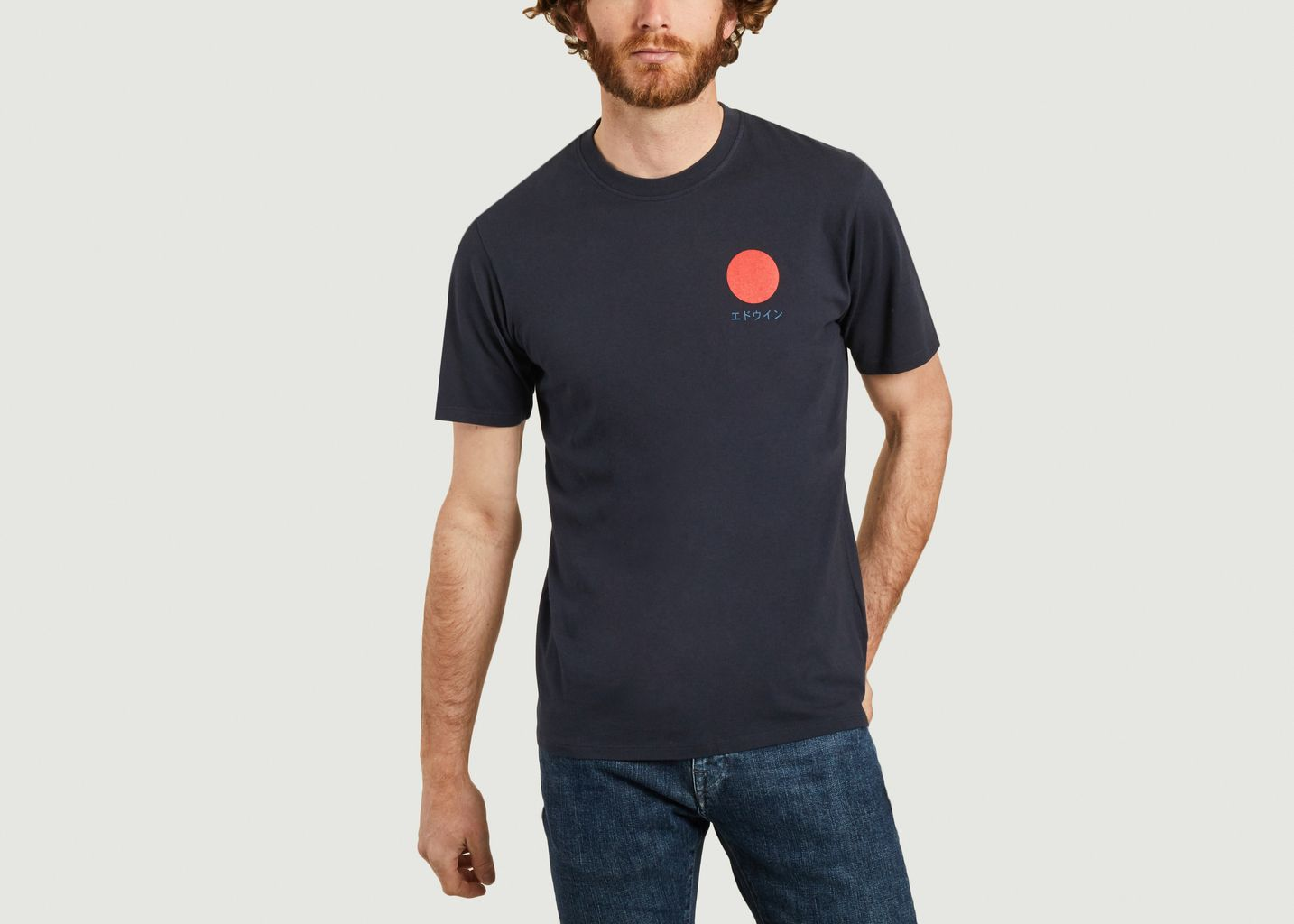 T-shirt Soleil Japonais - Edwin