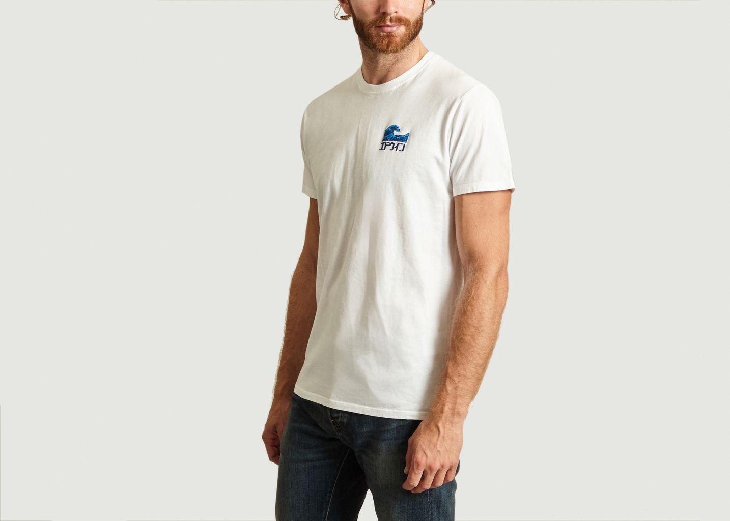 T-shirt Wave - Edwin