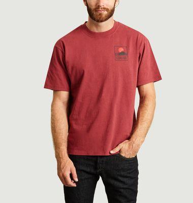T-shirt Sunset Fuji