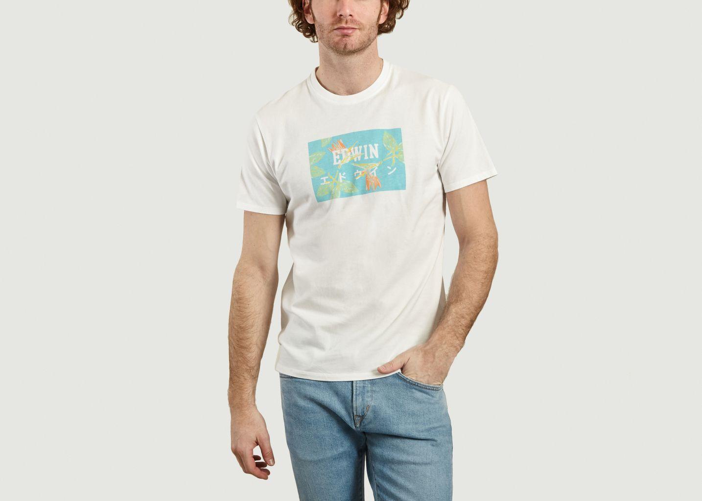T-shirt logotypé Birds Of Paradise - Edwin