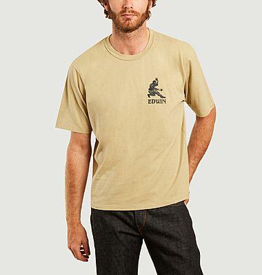 T-shirt brodé Shinobii