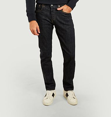 Jean brut regular tapered