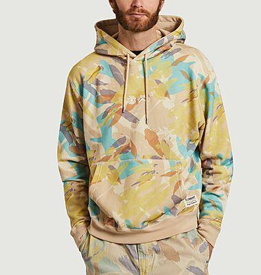 Hoodie oversize imprimé camouflage Nigel Cabourn