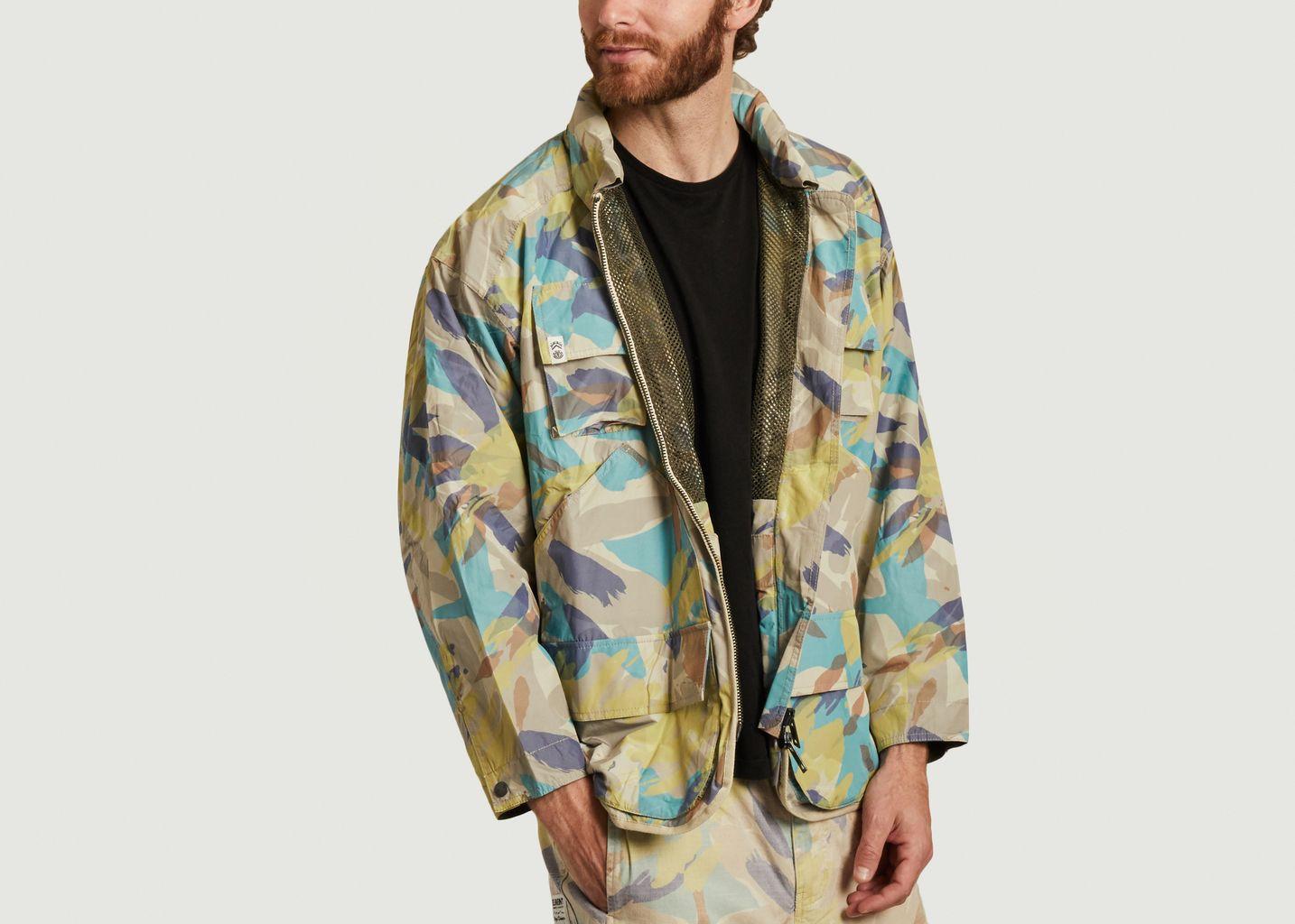 Parka oversize imprimé camouflage Alder Nigel Cabourn - Element