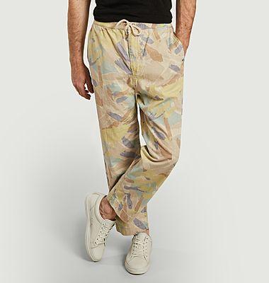Pantalon coupe relax imprimé camouflage Nigel Cabourn