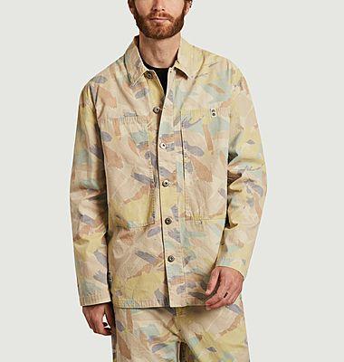 Surchemise imprimé camouflage Nigel Cabourn Summer