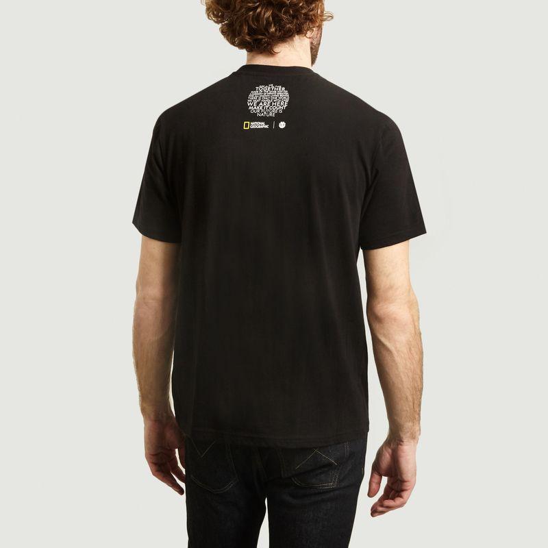 T-shirt Spiral National Geographic x Element - Element