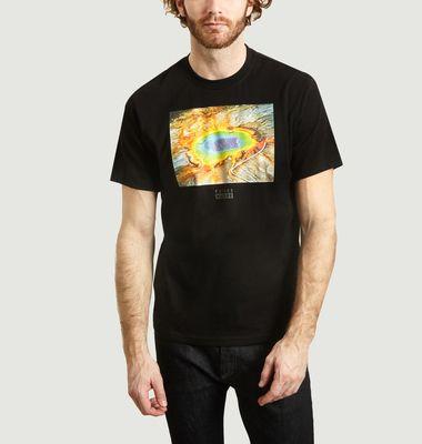 T-shirt Geyser en jersey de coton biologique National Geographic x Element