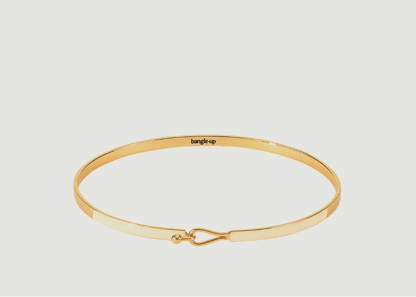 Bracelet Lily Blanc Sable  - Bangle Up